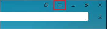 Кнопка с тремя горизонтальными линиями