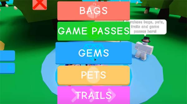 Выберите Game Passes