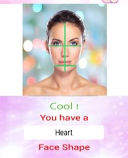 Приложение для классификации формы лица