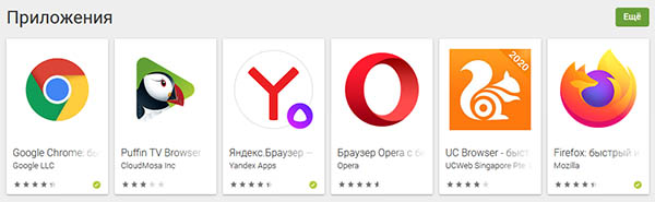 Мобильные браузеры