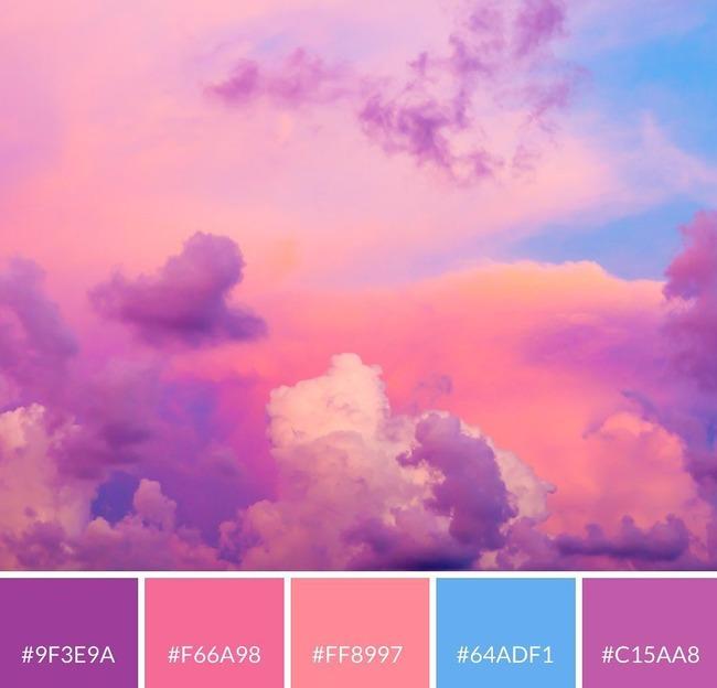 Разбивка изображения на палитру цветов с HEX-кодами