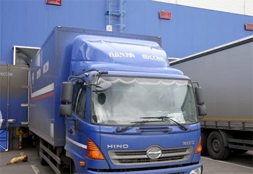 Автомобиль для доставки посылок