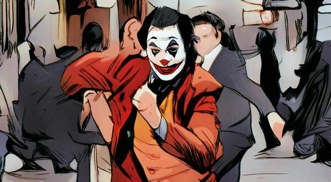 Кадр из фильма Джокер с Хоакином Фениксом