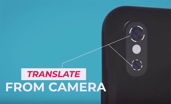 Перевод камерой