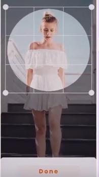 Обрезка изображения в приложении