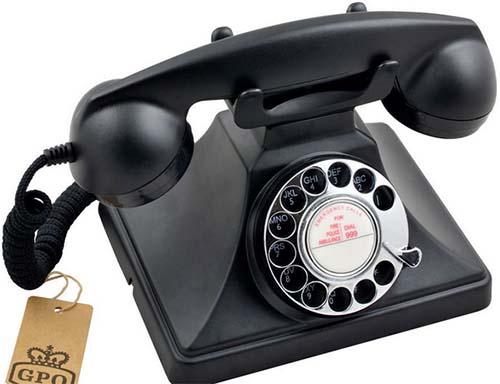 Телефон с номеронабирателем