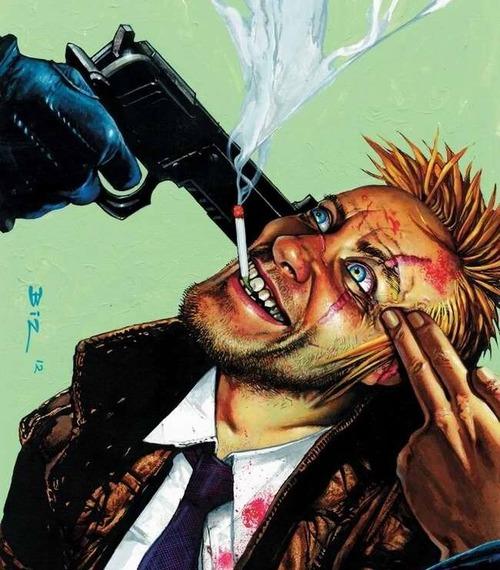 Персонаж Константин из комикса Hellblazer
