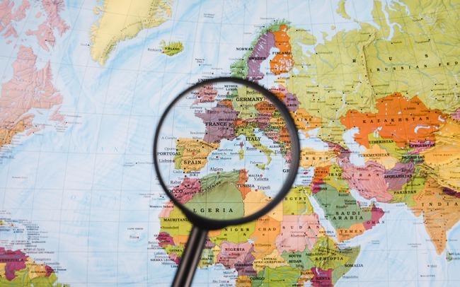 Поиск места по карте мира