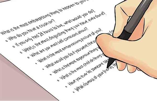 Запись правил игры на листок