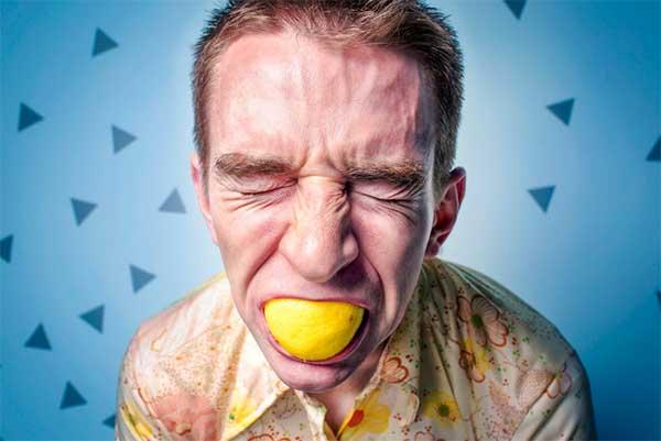 Задание с лимоном