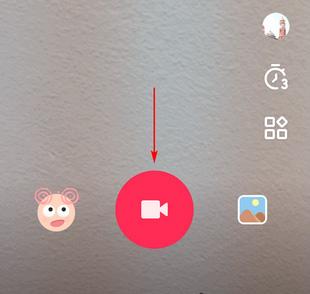 Кнопка для создания видео