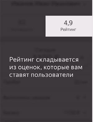 Рейтинг в системе