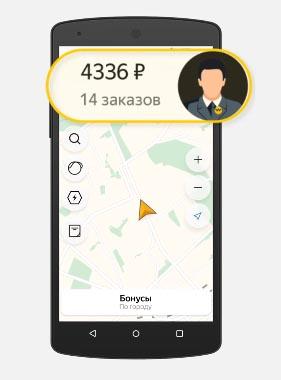 Заработанные деньги в Яндекс Про