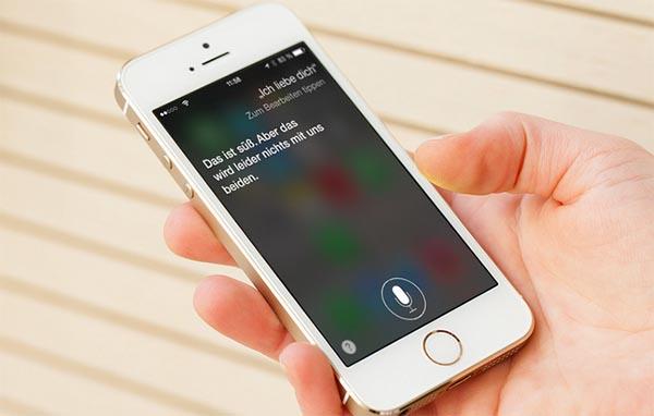 Голосовой помощник в iPhone
