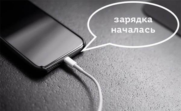 Говорящая зарядка Айфона