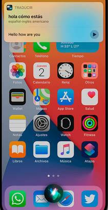 Голосовое управление в iPhone