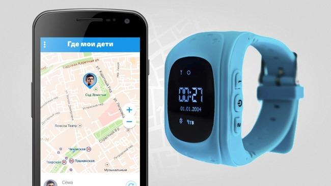 Smart-watch с подключенным телефоном