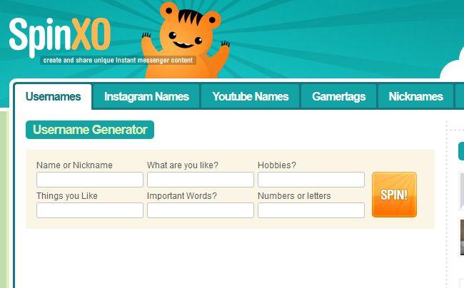 Скрин с сайта Spinxo