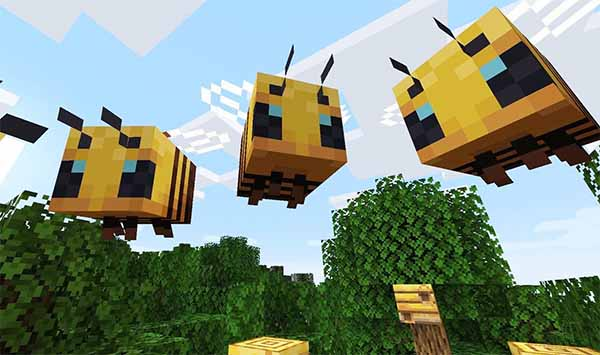 Пчёлы Майнкрафт