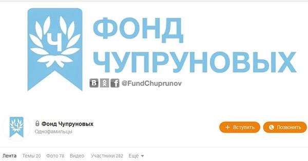 Фонд Чупруновых