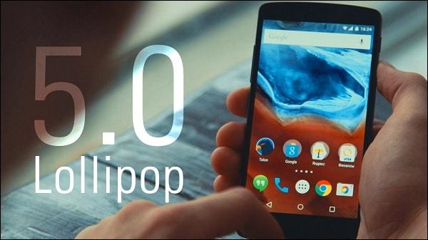 Картинка Андроид 5