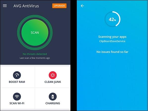 Антивирус AVG для мобильных