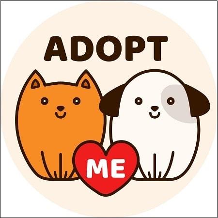 Кошка и собака Адопт Ми