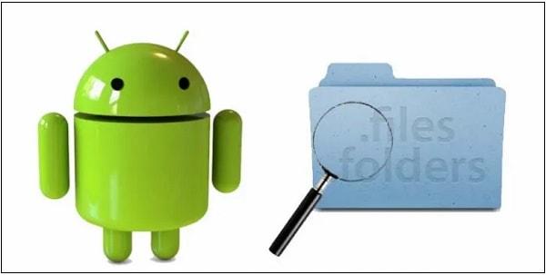 Скрытые файлы Андроид