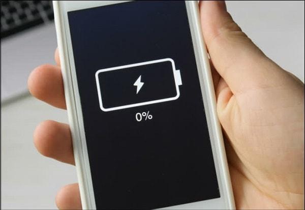 Фото разряд батареи