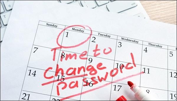 Время изменить пароль