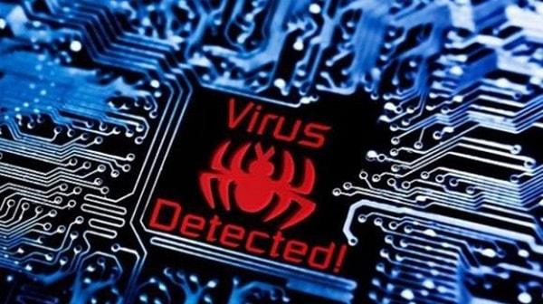 Картинка обнаружен вирус