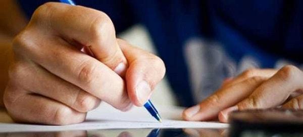 Картинка рука с ручкой