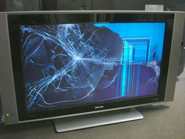 Разбитая матрица ТВ