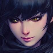 Нарисованное лицо девушки