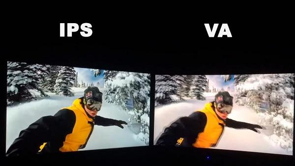 IPS-VA сравнение матриц