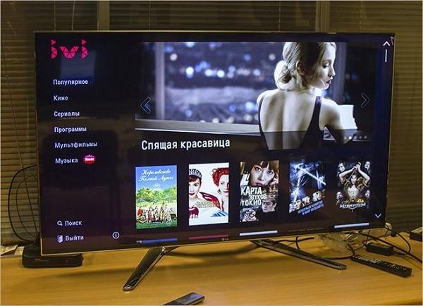 Сервис IVI на телевизоре