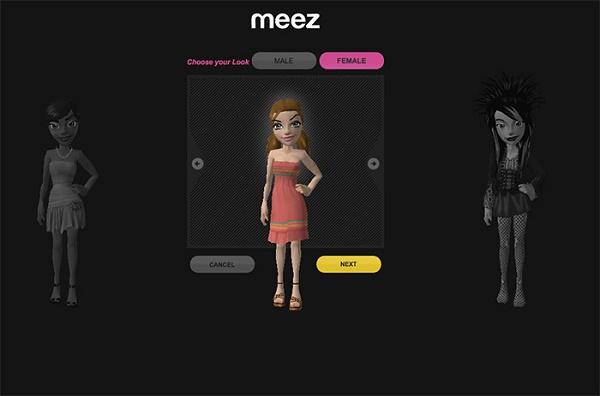 Сервис Meez