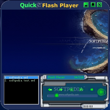 Quick flash player