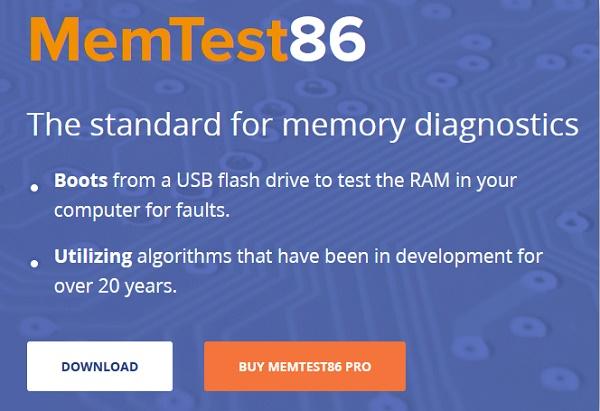 Программа MemTest