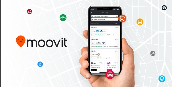 Приложение Moovit