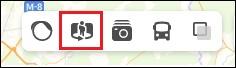 Кнопка панорамы Яндекс карты