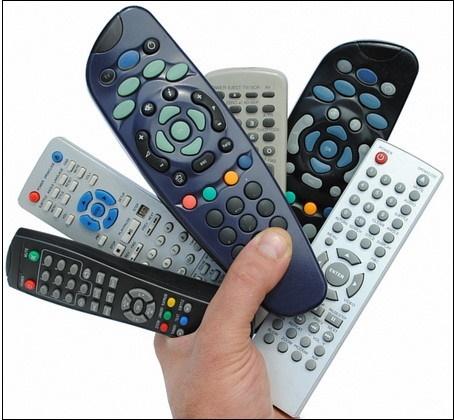Универсальные пульты к телевизору