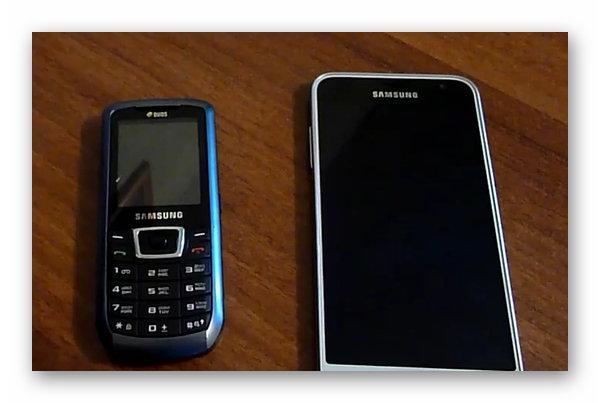 Кнопочный телефона Самсунг