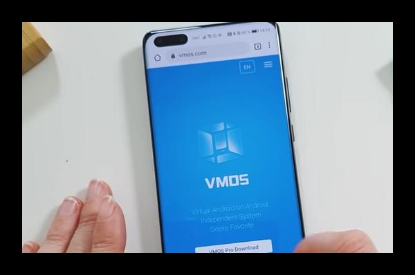 Сайт vmos.com
