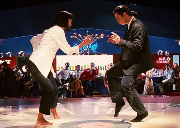 Фото танец Траволты