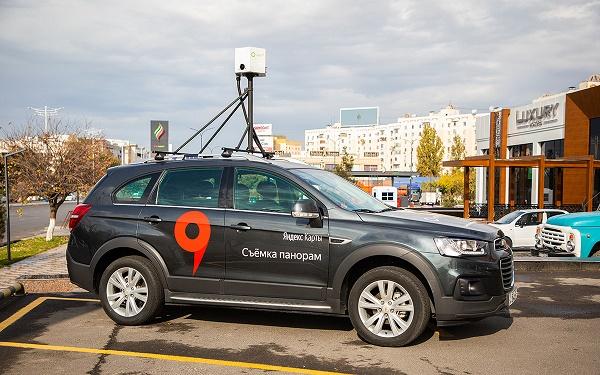 Автомобиль Яндекс Панорама