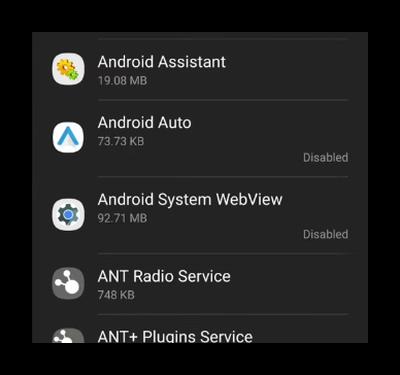 System WebView в приложениях