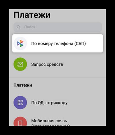 Перевод по телефону