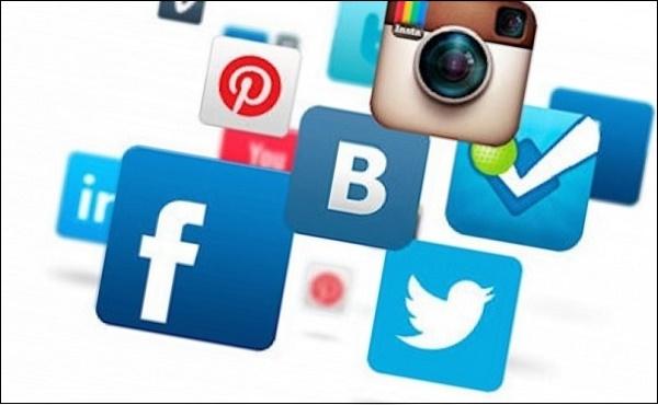 Картинка значки социальных сетей