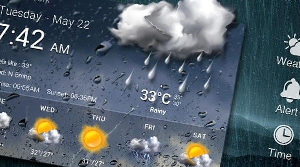 Виджет погоды картинка